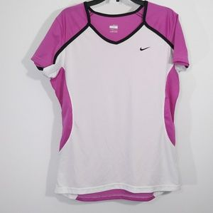Nike Fit dry |Women two toned workout T-Shirt Sz M